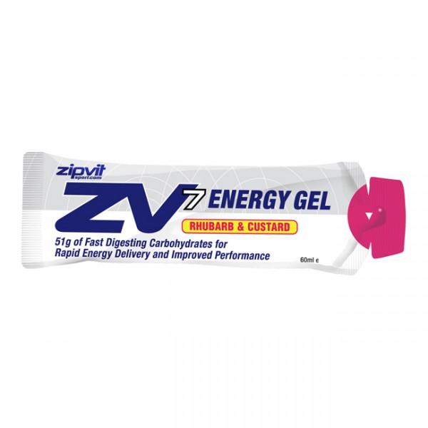 ZipVit Sport Zv7 Energy Gel Rhubarb and Custard