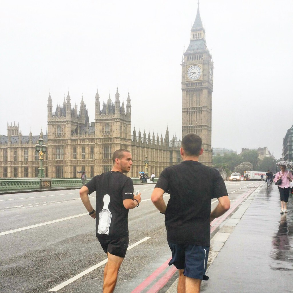 Run to Big Ben with Fred and Sean